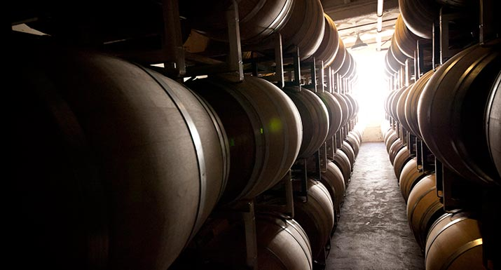 St Amant Barrel Room