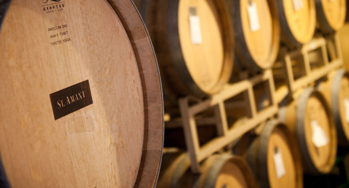 Winemaking barrel photos